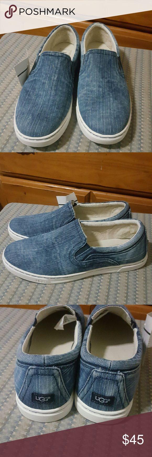 UGG Sneakers NEW,  BLUE Jean slipon sneakers, UGG Shoes Sneakers