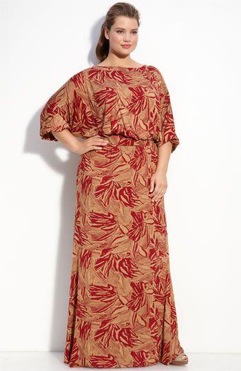 Cotton maxi dress plus size - Best Dressed