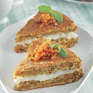 Kremalı Havuçlu Kek Tarifi - Resimli Kolay Yemek Tarifleri