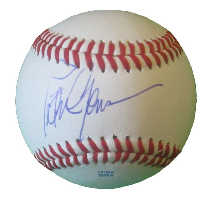 Peter Gammons Autographed Rawlings ROLB1 Leather Baseball, Proof Photo. Peter Gammons Signed Rawlings Baseball, ESPN Reporter, Boston Red Sox, MLB Network, Proof  This is a brand-new Peter Gammons autographed Rawlings official league leather baseball. Peter signed the baseball in blue ball point pen. Check out the photo of Peter signing for us. ** Proof photo is included for free with purchase. Please click on images to enlarge. Please browse our website for additional MLB autographed...