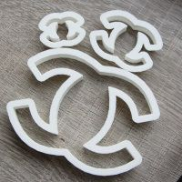 """Cookie cutter """"Chanel"""" 3 pc"""