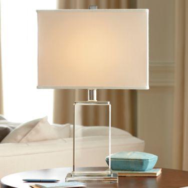 Royal Velvet® Crystal Block Table Lamp   JCPenney