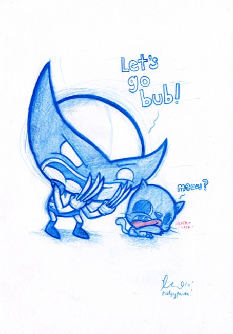 Podgy Panda - Daily Doodles 11-20 (10 drawings!)