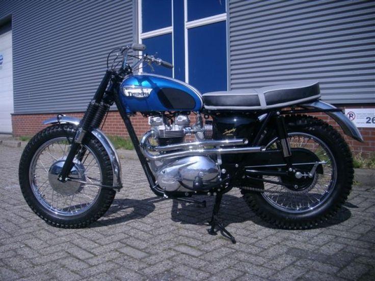 1966 Triumph T120tt 1966 Tr6sc Mister Jim Holand