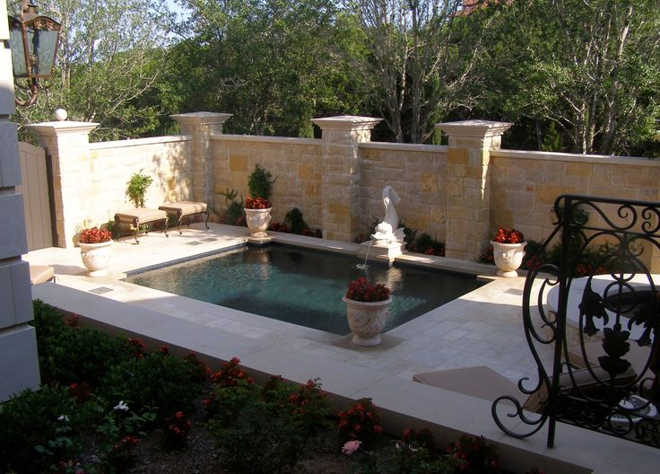 oasis fountain backyards architects forward backyard oasis with