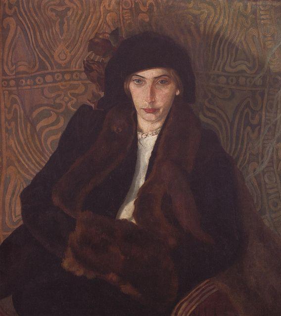 Stanisław Ignacy Witkiewicz - Portret Jadwigi Janczewskiej