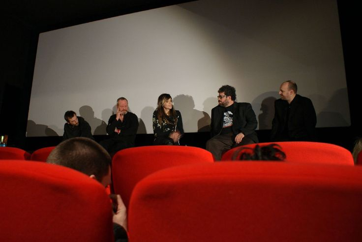 Mathieu Kassovitz, Terry Gilliam, Martha Fiennes, Neil LaBute at Heavy Rain premiere.