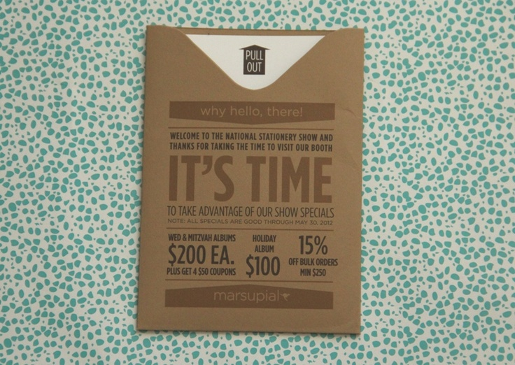 the stationery place: stationery show media kits