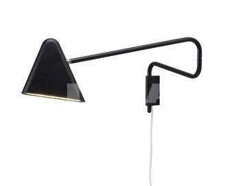Ah, how much do I love Ikea! Their version of a Serge Mouille bedside swing lamp. Alas, so far, only available in Scandinavia.
