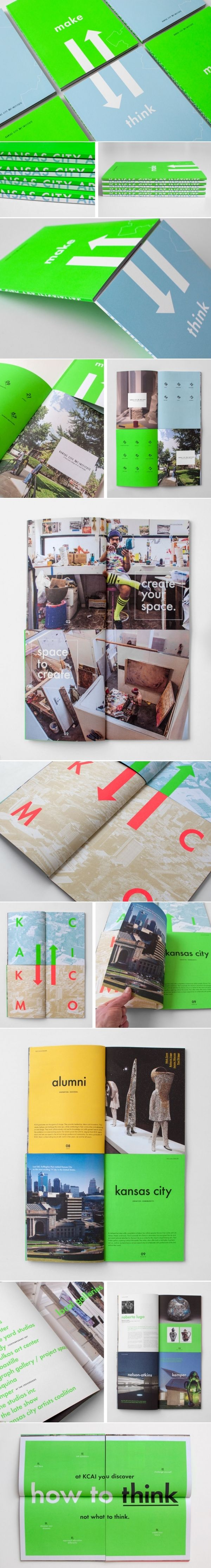 Kansas City Art Institute   Copywriting, Design, Marketing Materials   Design Ranch
