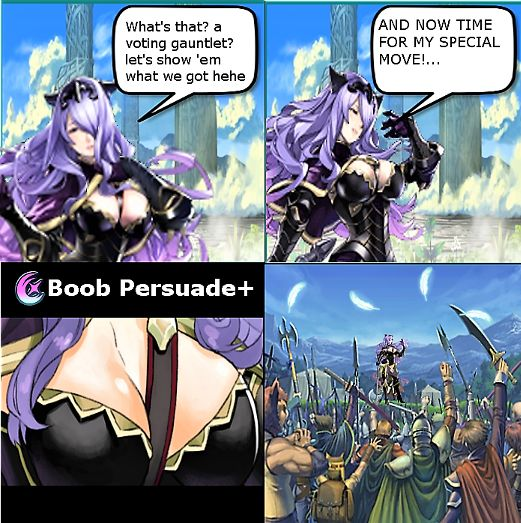How in the world is Camilla so popular, jeez I will forever wonder ;) : FireEmblemHeroes