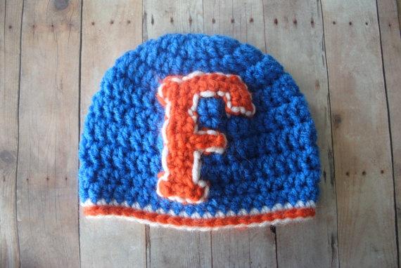 Baby Hat  University of Florida UF Gators  Orange by ELMCrochet, $30.00