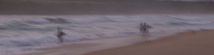 Impressionist photography Early Morning surf