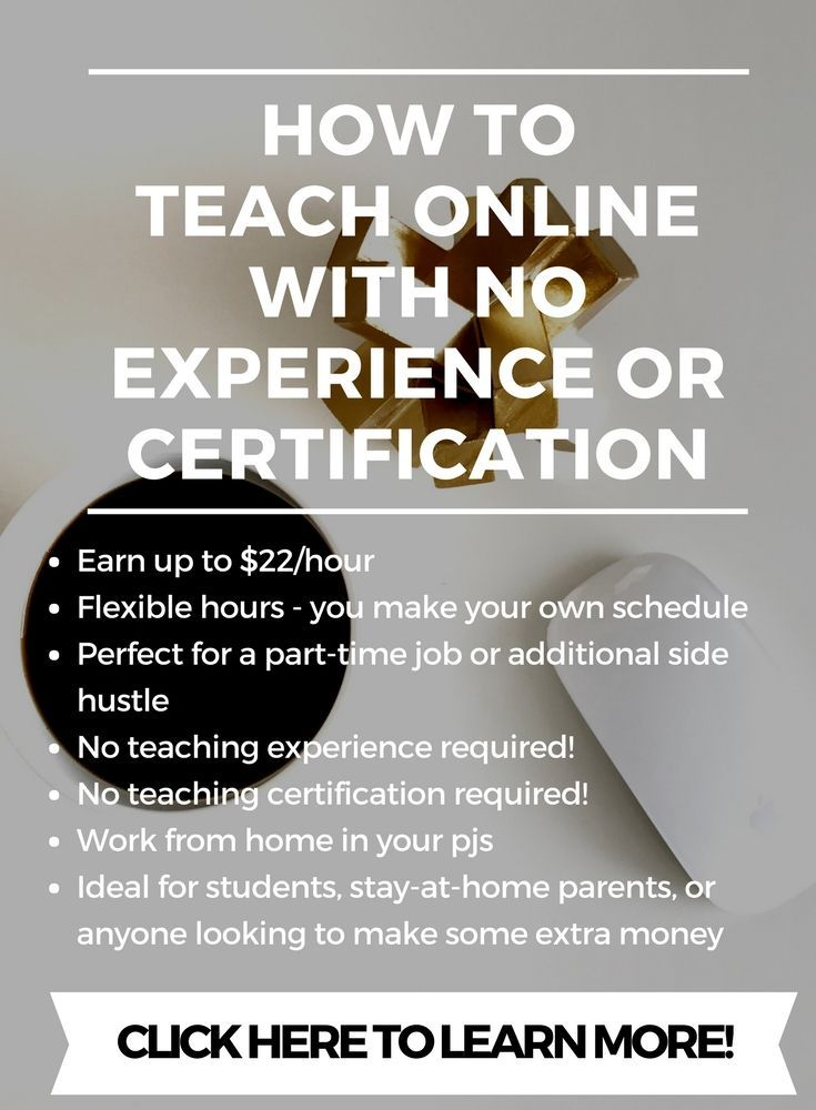 How To Teach Online With No Experience or Certification | Make Money