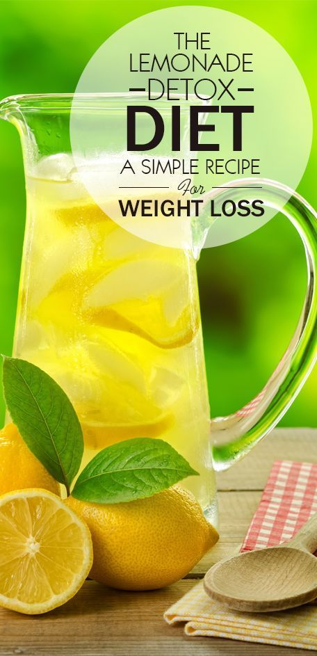The Lemonade Diet, also known as the master cleanse, is a diet resulting in rapid weight loss over a period of several days to about a week.