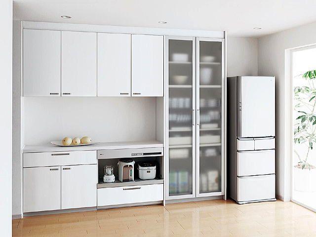 使いやすいキッチンレイアウトを完全解説 食器棚の配置や収納術も キッチンのレイアウト リビング キッチン カウンターキッチン レイアウト