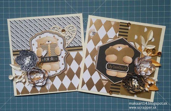 postcards of MakaArt, DT of scrapper.sk
