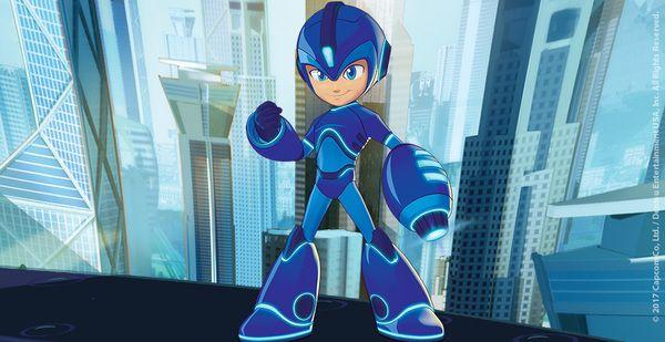 Brand-new details on the upcoming Mega Man cartoon