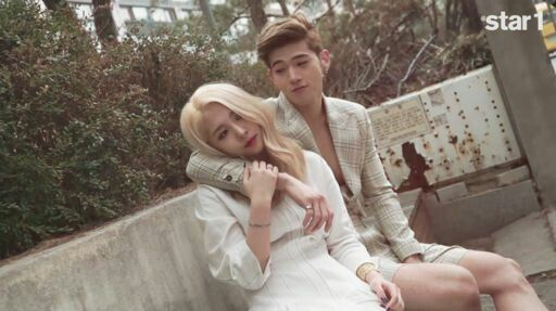 BWoo looking cute!! The way BM is looking at Jiwoo makes my heart flutter! <3 #STAR1MAGAZINE