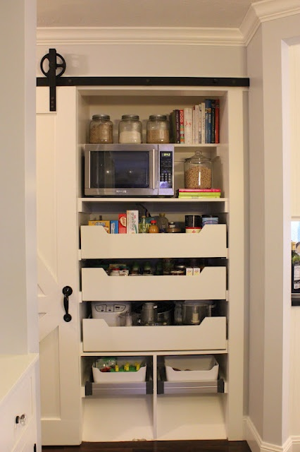 Built In Pantry From Ikea Components Built In Pantry