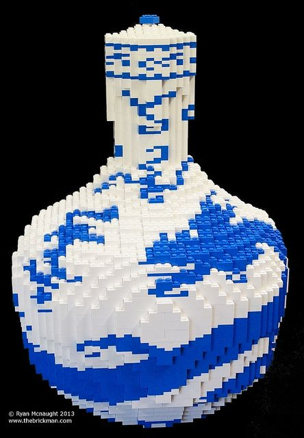 LEGO Ming Vase   Flickr - Photo Sharing!