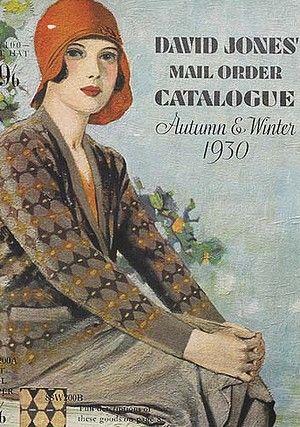 1930 David Jones' Mail Order Catalogue