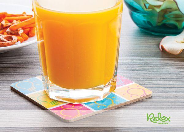 Adj színt a hétköznapoknak, az italok mellé kínálj egyedi poháralátétet!