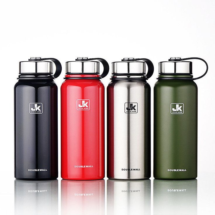 1500ML Water Bottle Storage Vacuum Thermos For Camp Trip Outdoor Travel Picnic #Unbranded