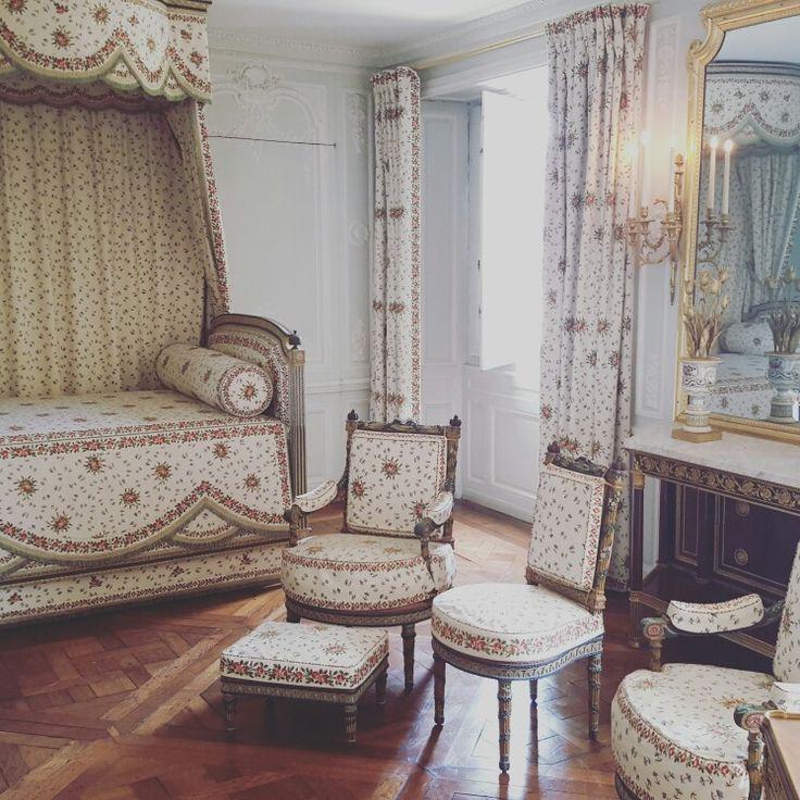 Chambre Marie-Antoinette au Domaine de la Reine, Petit Trianon, Versailles