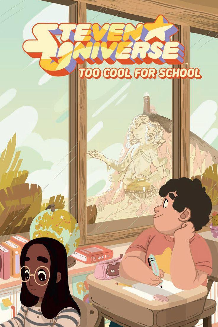Preview: Steven Universe: Too Cool for School OGN, Story: Ian Jones-Quartey & Jeremy Sorese Art: Asia Kendrick-Horton & Rachel Dukes Cover: Rosemary Valero-O'Connell Publisher: BOOM! Studios..., #All-Comic #All-ComicPreviews #Boom!Studios #Comics #IanJon