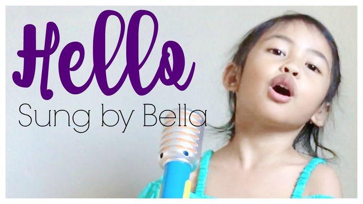 """Hello"" by Lionel Richie Sung by Bella"