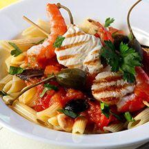 Fixa enkelt medelhavs-feeling med Frutti di mare från grillen