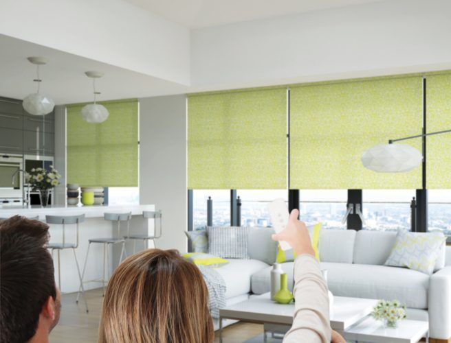 Did you know that we supply Motorised Blinds and curtains? They are more affordable than you may think, save time and help to keep your home or office safe.