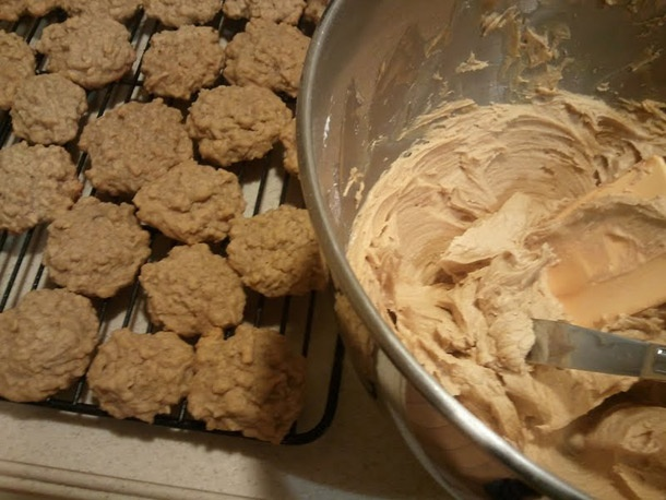 Homemade Do-Si-Dos Girl Scout Cookies-- A little labor intensive, but ...