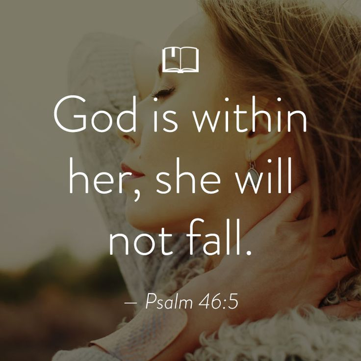 Bible Verse For Women About God Being With Us