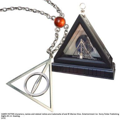 Xenophilius Lovegood's Necklace. Harry Potter Noble Collection: Amazon.co.uk: Toys & Games