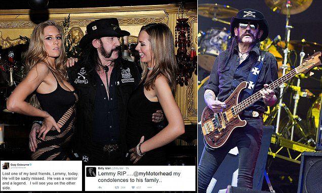Motorhead rocker Lemmy Kilmister dies aged 70