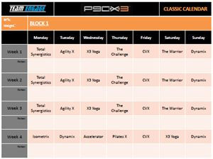 Download P90X3 Calendar and Fitness Tracker | Engage Fitness with Coach Greg Armfield