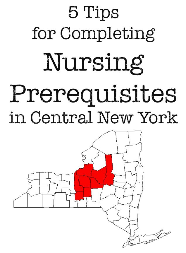 5 Tips for Completing Nursing Prerequisites in Central New York