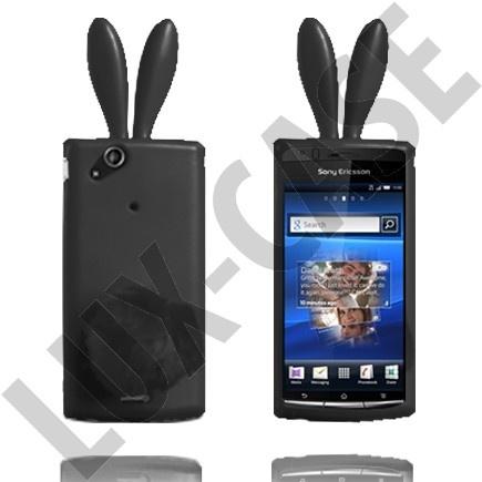 Sony Ericsson Xperia Arc mustat pupu suojakuoret!