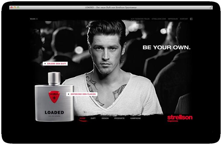 Strellson LOADED Website is coming soon...