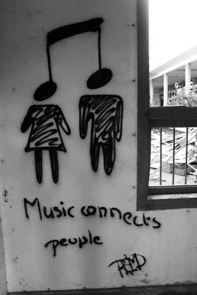 Music connects 2 people :)
