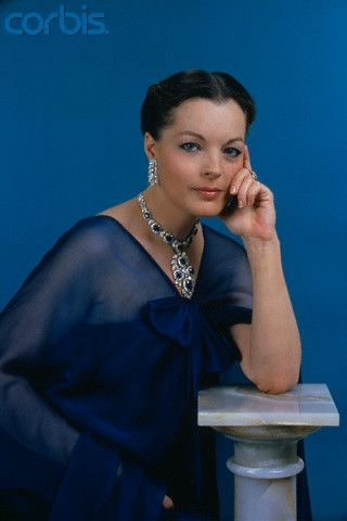 Austrian-born German Actress Romy Schneider