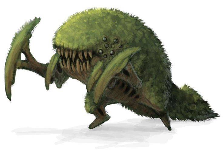 Living Land Monster from Guild Wars Nightfall