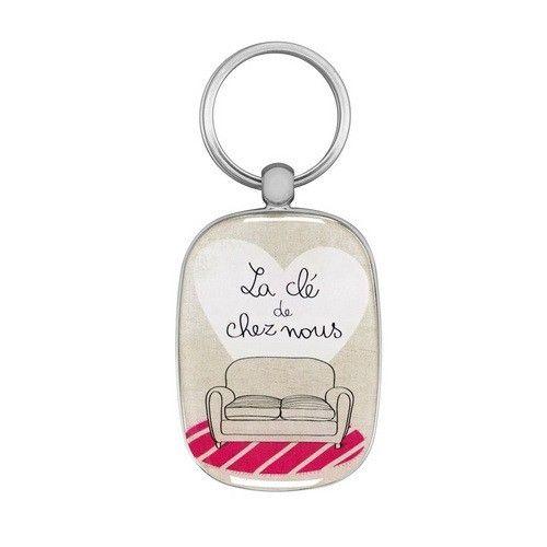 Porte-clé OPAT Salon | Porte clefs Derrière la porte - Fauvain Claire