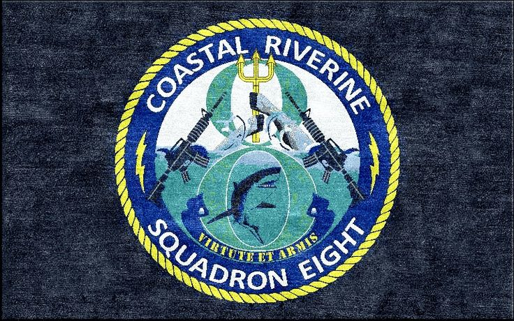 Coastal Riverine Squadron Eight Logo Rugs Pinterest