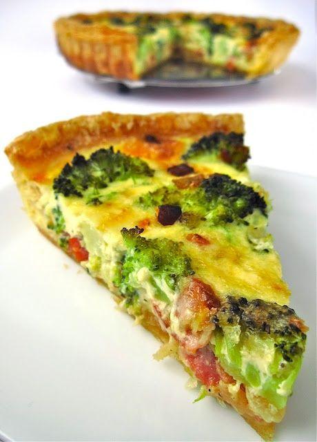 Vida saludable: Quiche de brócoli, Solo Recetas, el blog de las recetas gratis, recetas de cocina, recetas de la abuela y recetas de chef | Vida saludable: Quiche de brócoli, Solo Recetas, el blog de las recetas gratis, recetas de cocina, recetas de la abuela y recetas de chef