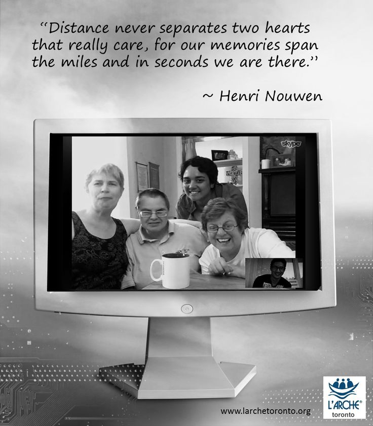 """""""Distance never separates two hearts that really care, for our memories span the miles and in seconds we are there."""" ~ Henri Nouwen #quotes #inspiration #nouwen"""