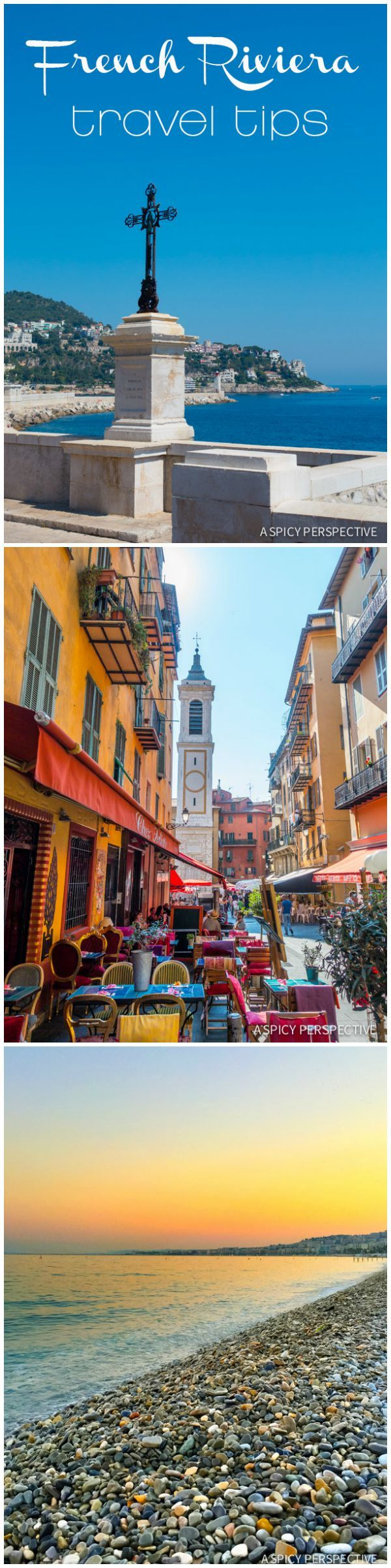 Need-To-Know French Riviera Travel Tips on ASpicyPerspective.com #travel #france