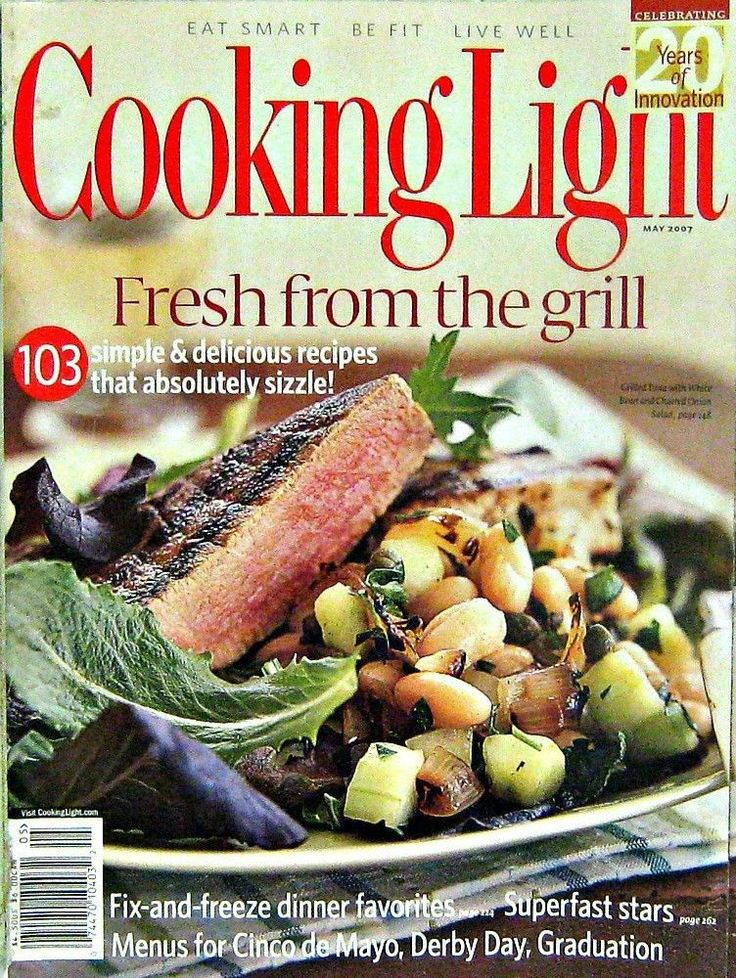 87 best cooking light magazine images on pinterest cooking light buy any 3 magazines from our inventory and get off cooking light magazine fresh recipes from the grill may 2007 forumfinder Choice Image
